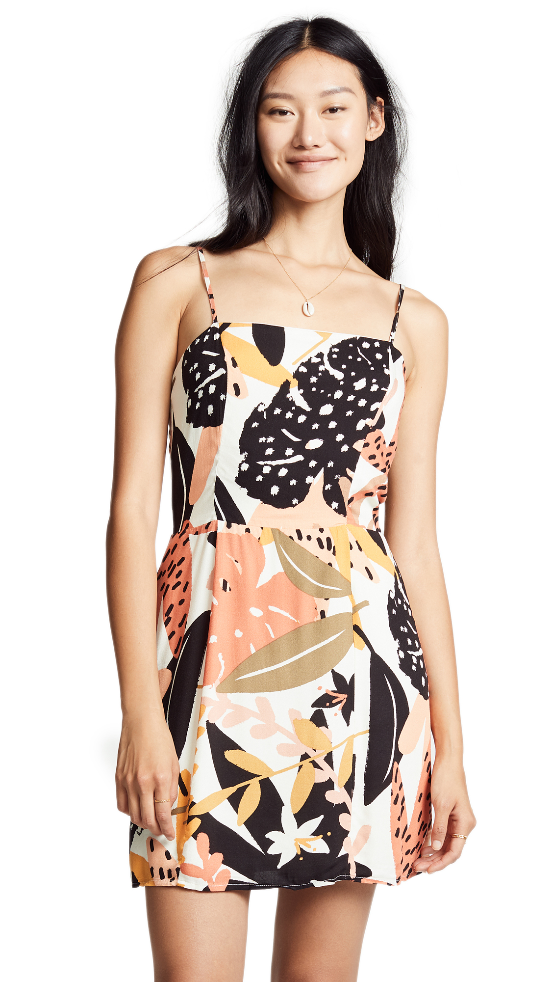 MINKPINK Fever Mini Dress in Multi