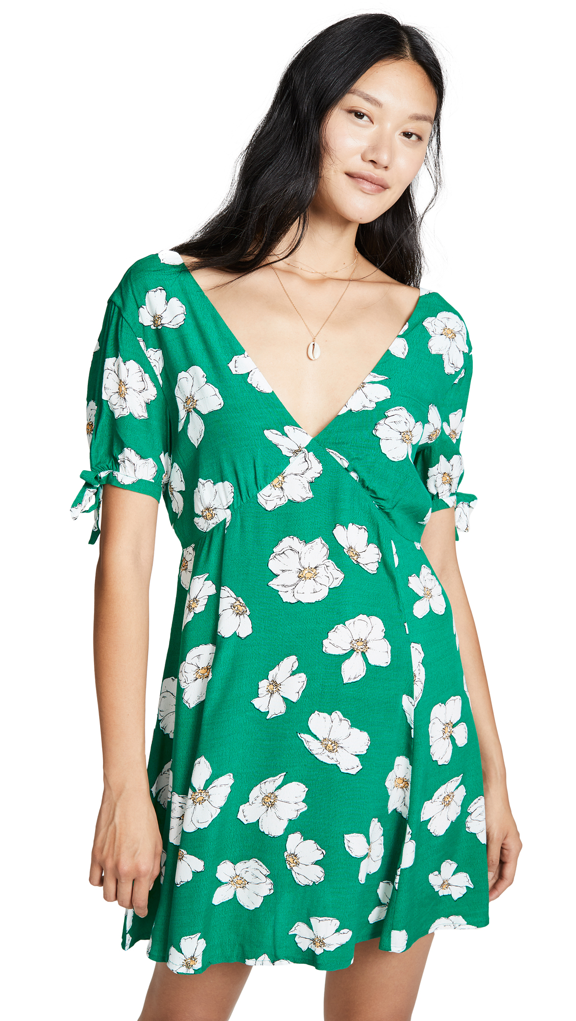 MINKPINK Green House Dress