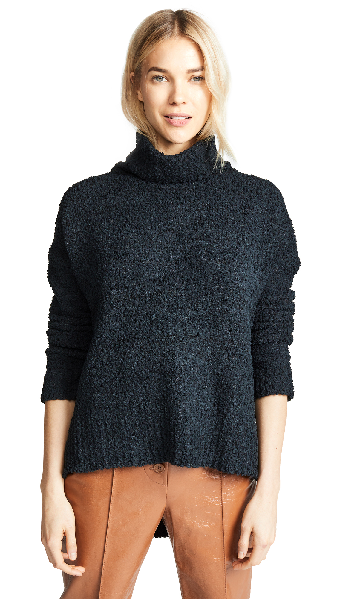 MINKPINK The One Boxy Knit Sweater in Black