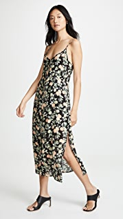 MINKPINK Миди-платье на пуговицах спереди Valencia