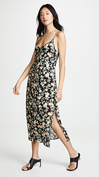 Minkpink Dresses VALENCIA BUTTON FRONT MIDI DRESS