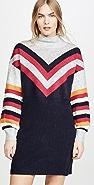 MINKPINK 条纹毛衣连身裙
