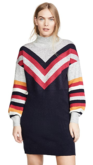 Photo of  MINKPINK Stripe Me Up Sweater Dress - shop MINKPINK dresses online sales