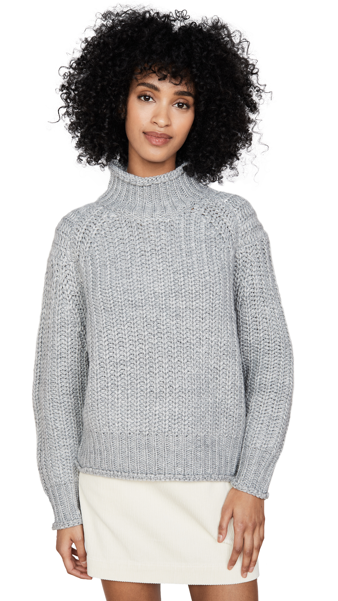 Buy MINKPINK online - photo of MINKPINK Stevie High Neck Sweater