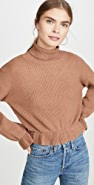 MINKPINK All My Friends Frill Sweater
