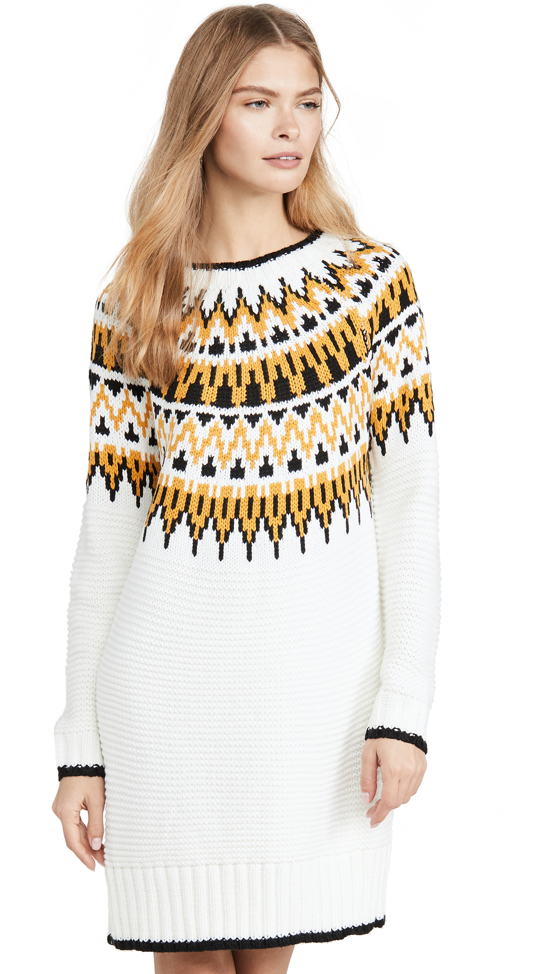 Buy MINKPINK online - photo of MINKPINK Imogen Fairsile Sweater Dress