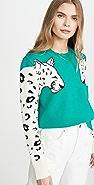 MINKPINK Snow Leopard Sweater