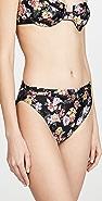 MINKPINK Tropicana Belted Bikini Bottoms