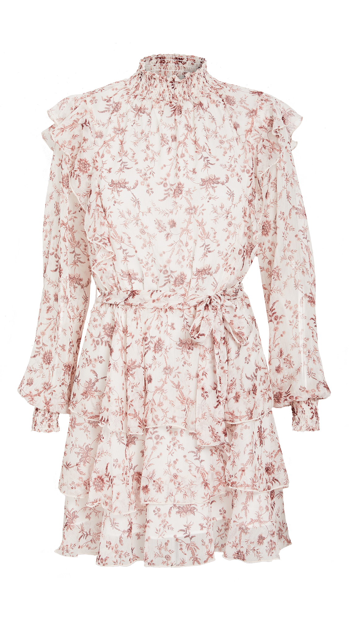 MINKPINK Melannie Chiffon Mini Dress