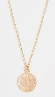 Maison Irem Coin Necklace Ottoman Gold