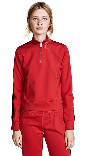 M I S B H V Extacy Half Zip Jersey Pullover