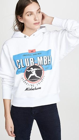 Misbhv Tops CLUB MBH HOODIE