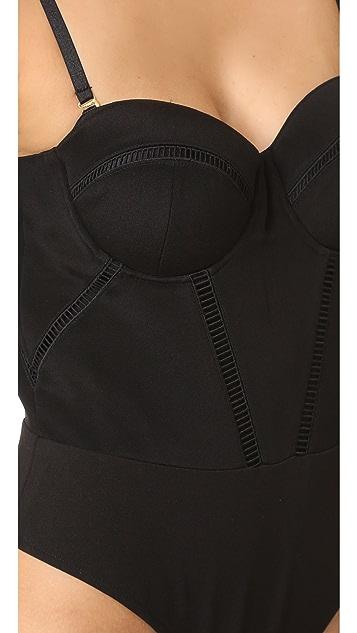 Misha Collection Liana Silk Bodysuit