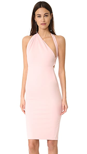 Misha Collection Misu Dress In Pale Pink