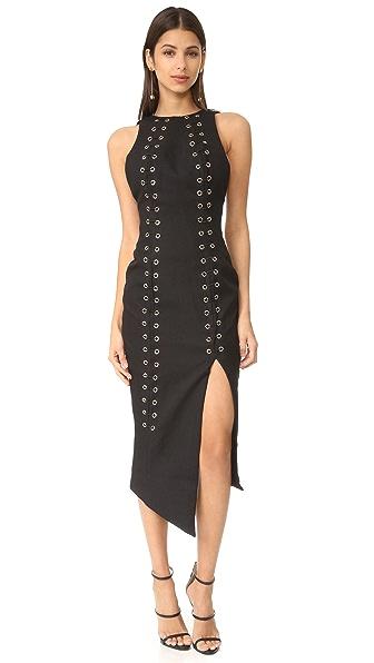Misha Collection Ana Dress - Ebony