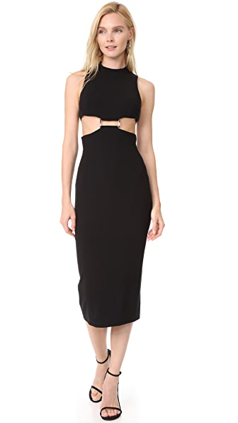 Misha Collection Audrey Dress In Black