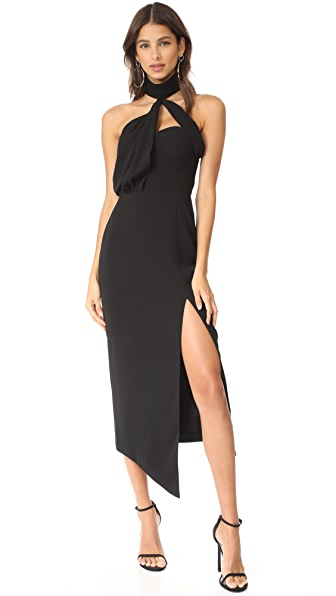 Misha Collection Triviata Dress In Black
