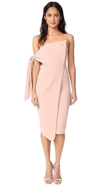 Misha Collection Romi Structured Midi Dress
