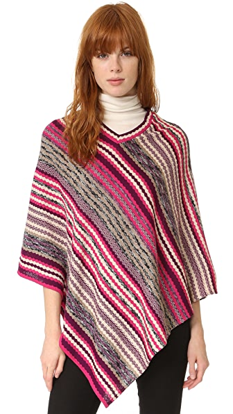 Missoni Zigzag Poncho - Pink Multi at Shopbop