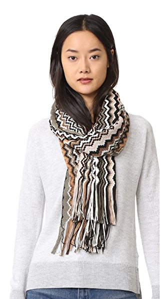 Missoni Stole Scarf - Brown Multi at Shopbop