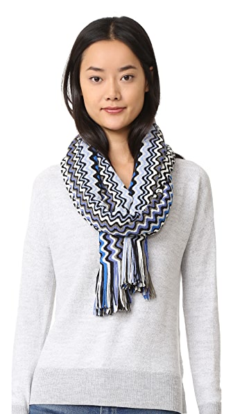 Missoni Stole Scarf - Blue Multi at Shopbop