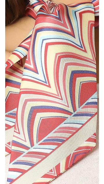 Missoni Skinny Tie Scarf