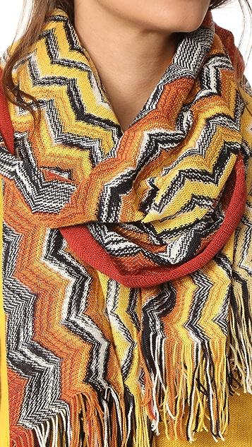Missoni Wool Zigzag Scarf