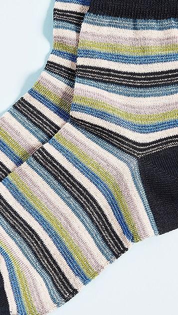 Missoni Stripe Ankle Socks