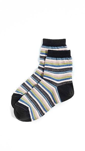 Missoni Stripe Ankle Socks at Shopbop