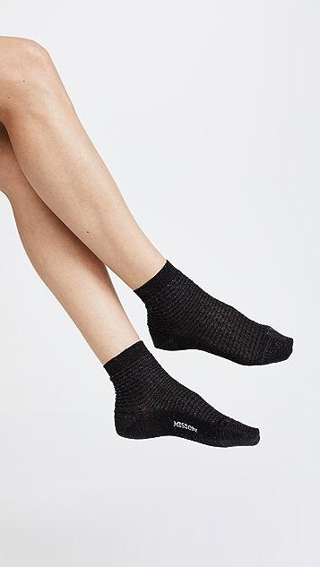 Missoni Waffle Ankle Socks