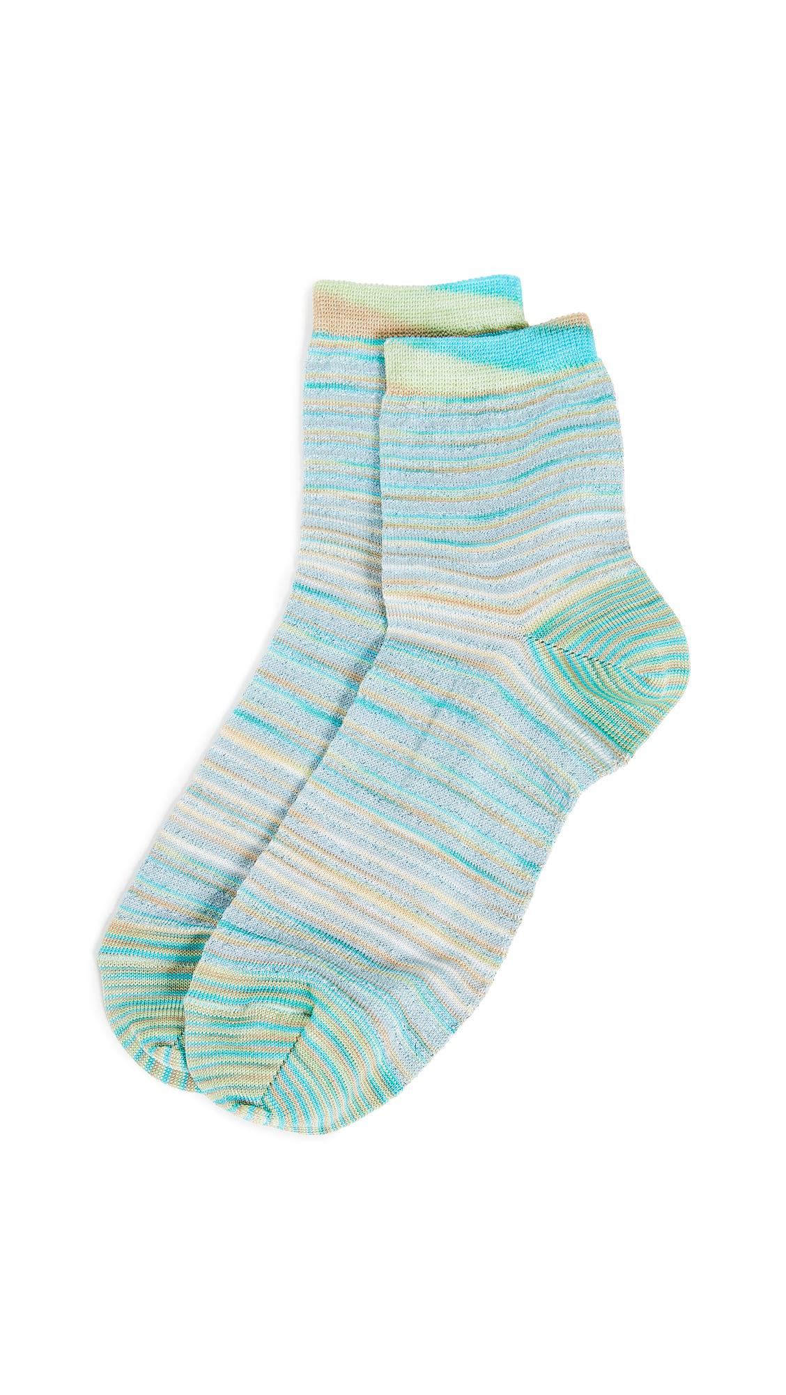 Missoni Short Socks - Blue Multi