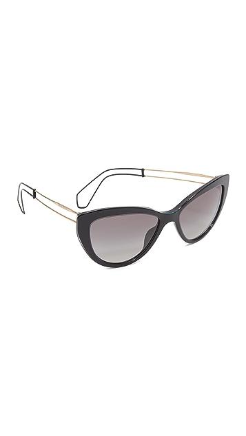 Miu Miu Cat Eye Sunglasses