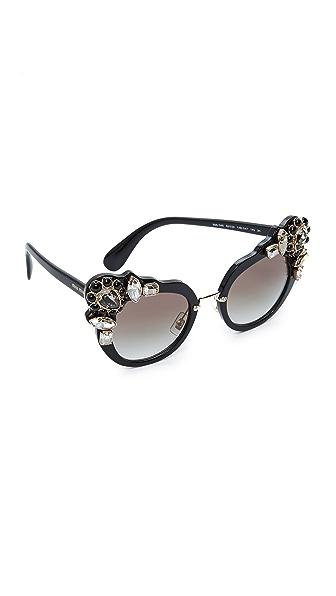 Miu Miu Солнцезащитные очки Adorned