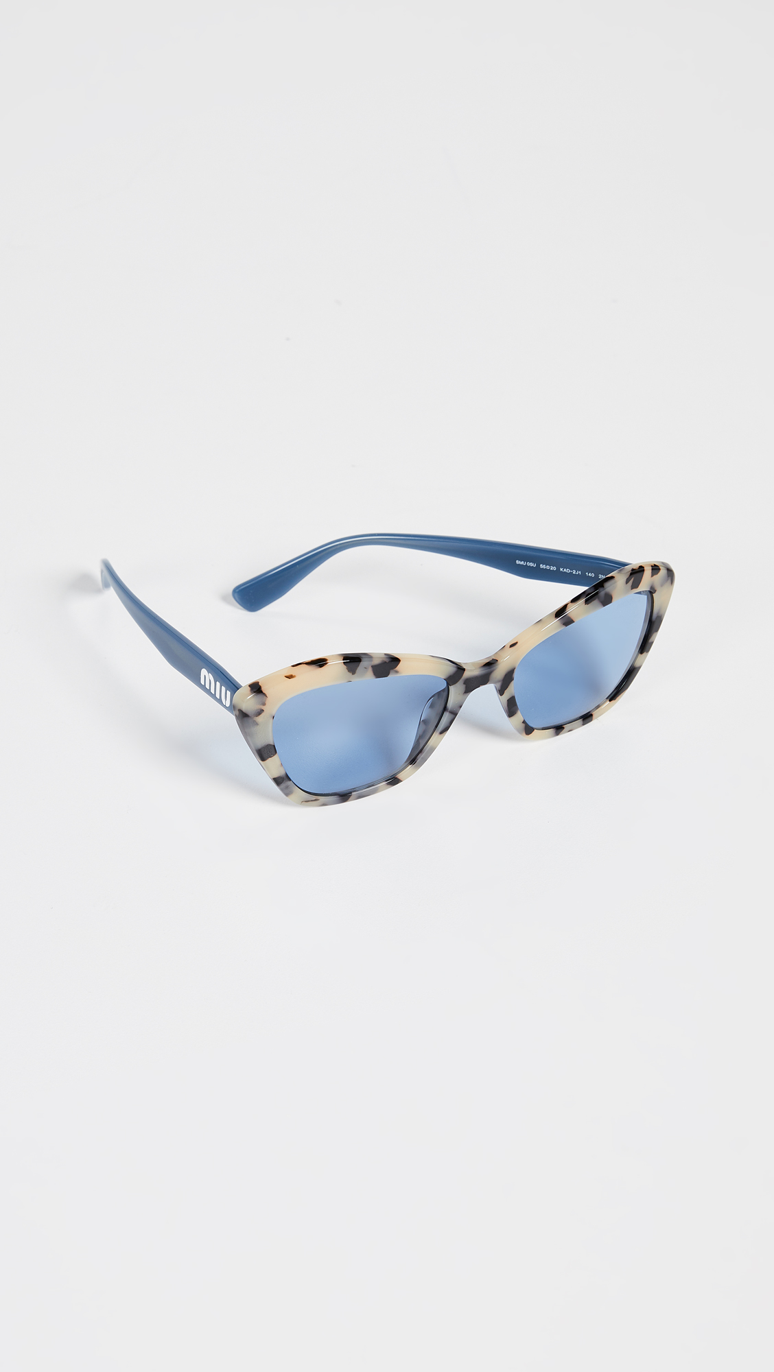 ec70ee94ced Miu Miu Acetate Cat Eye Sunglasses