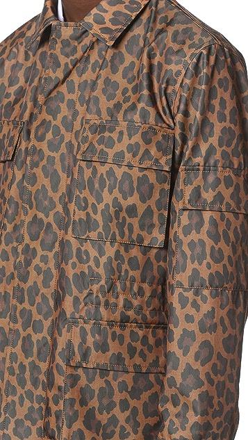 Marc Jacobs Geo Leopard Field Coat