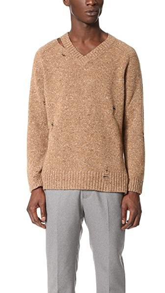 Marc Jacobs Olympia Destroy Sweater