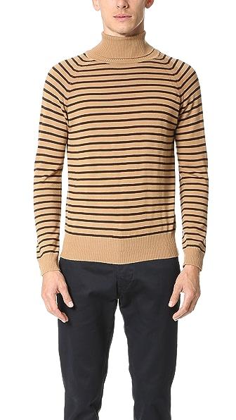Marc Jacobs Stevie Stripe Turtleneck Sweater