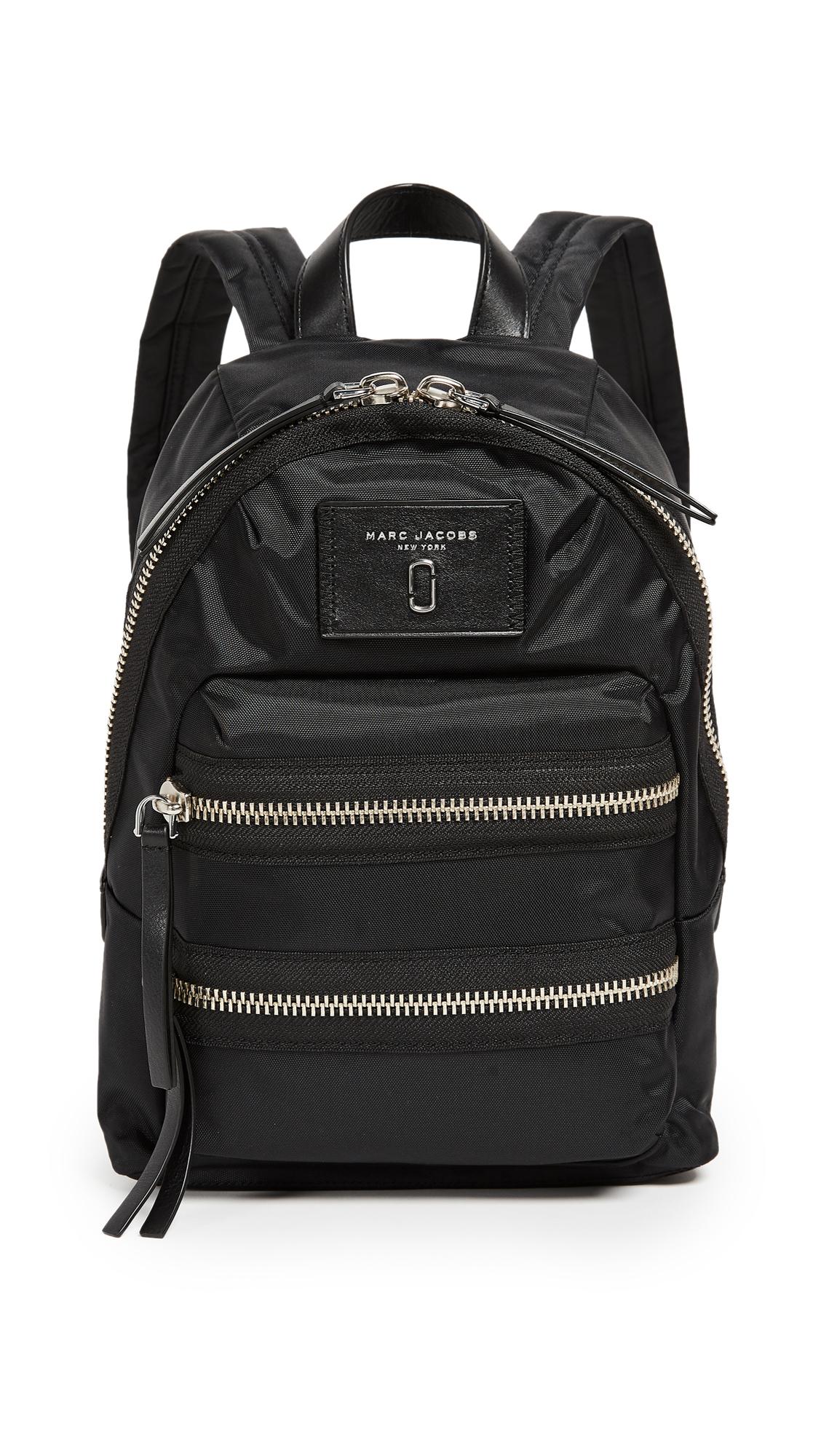 Marc Jacobs Mini Nylon Biker Backpack - Black