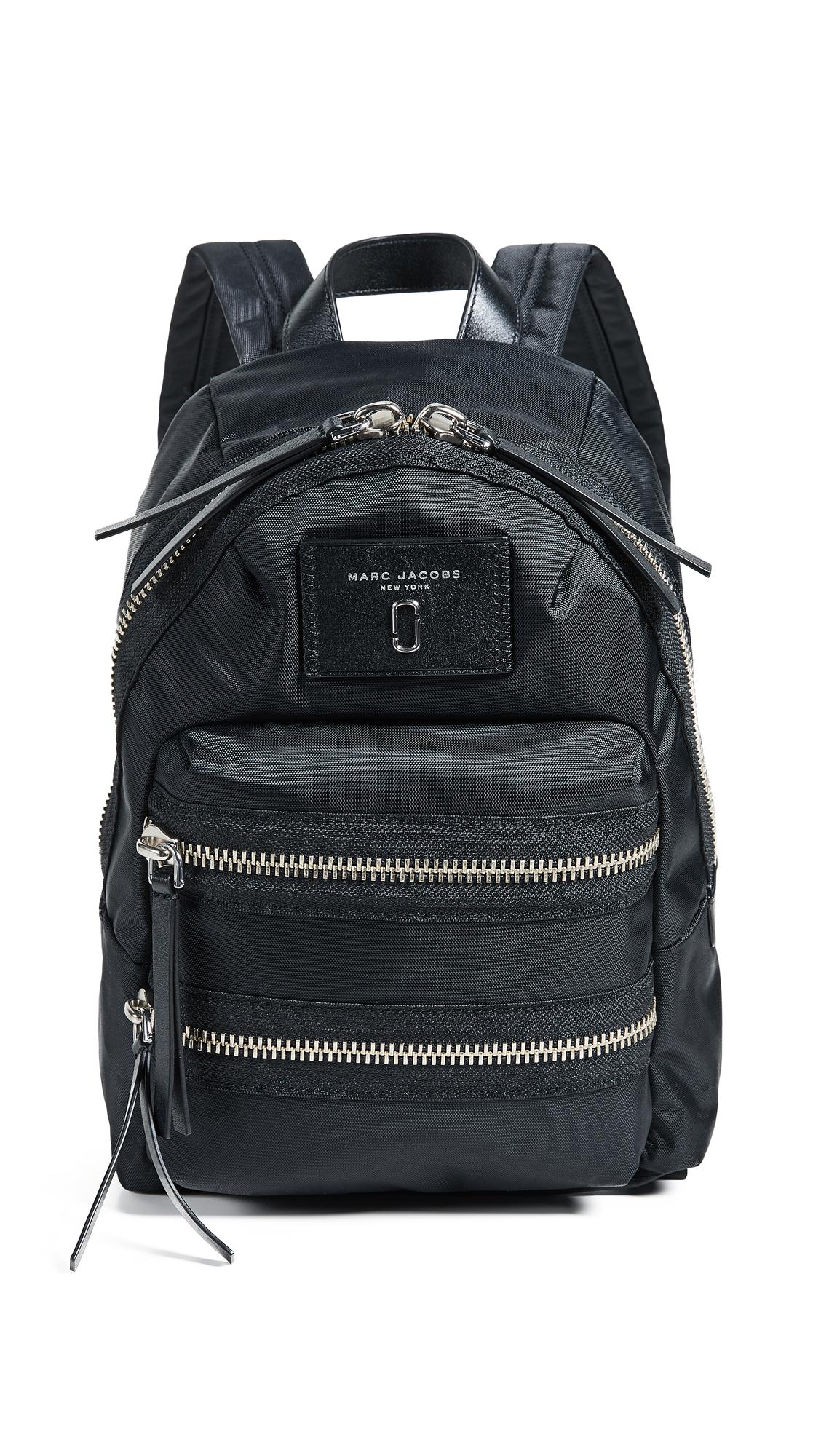 Mini Nylon Biker Backpack, Midnight Blue