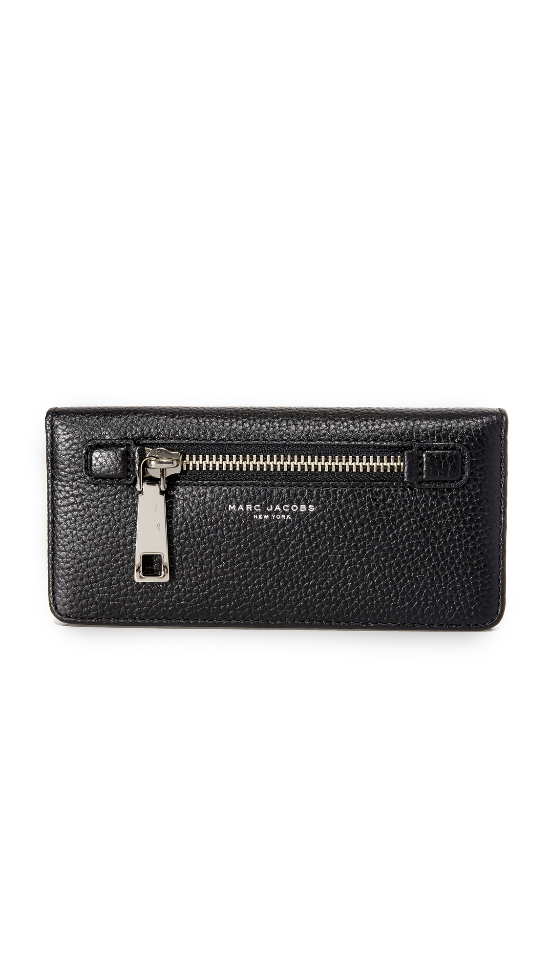 Marc Jacobs Gotham Open Face Wallet - Black