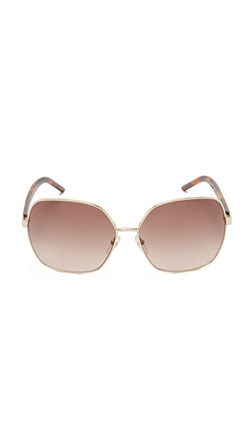 Marc Jacobs Easy To Wear Glam Oversized Sunglasses