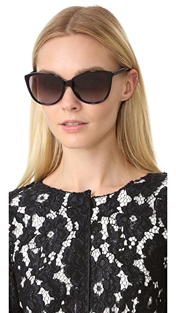 Marc Jacobs Easy To Wear Cat Eye Sunglasses