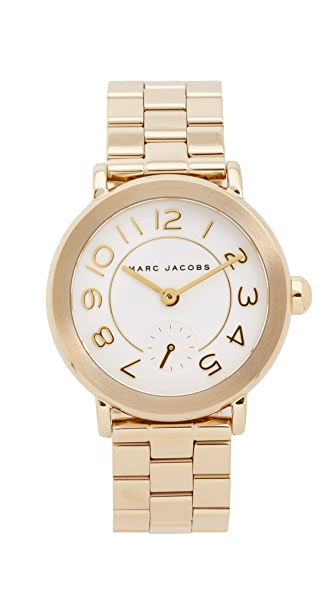 Marc Jacobs New Classic Watch - Gold/White