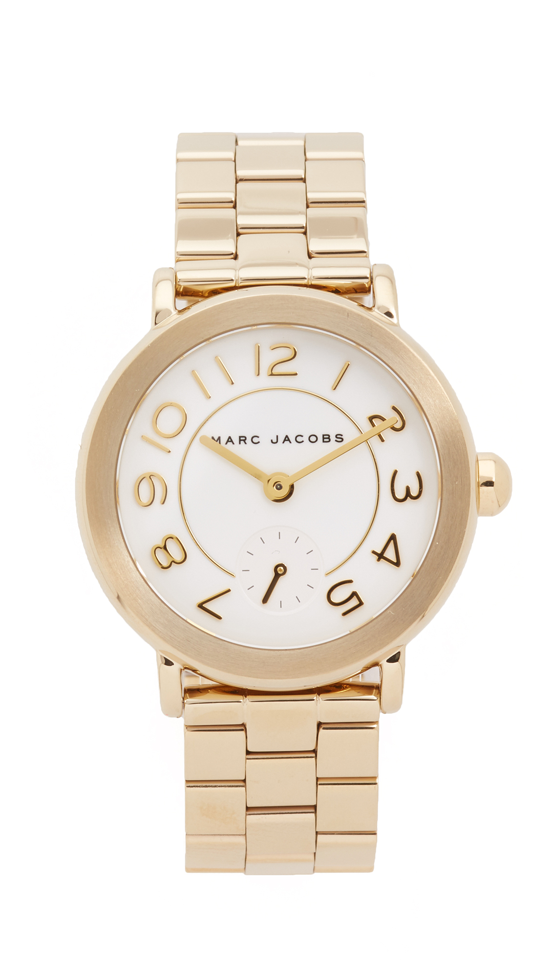 marc jacobs female 265997 marc jacobs new classic tbd watch goldwhite