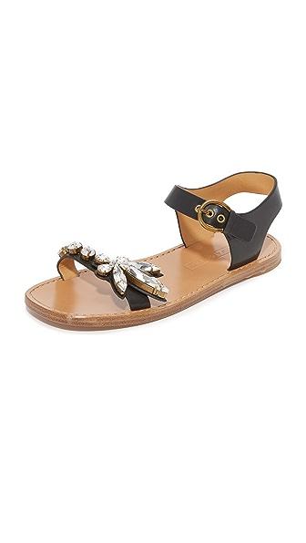 Marc Jacobs Rivington Embellished Sandals