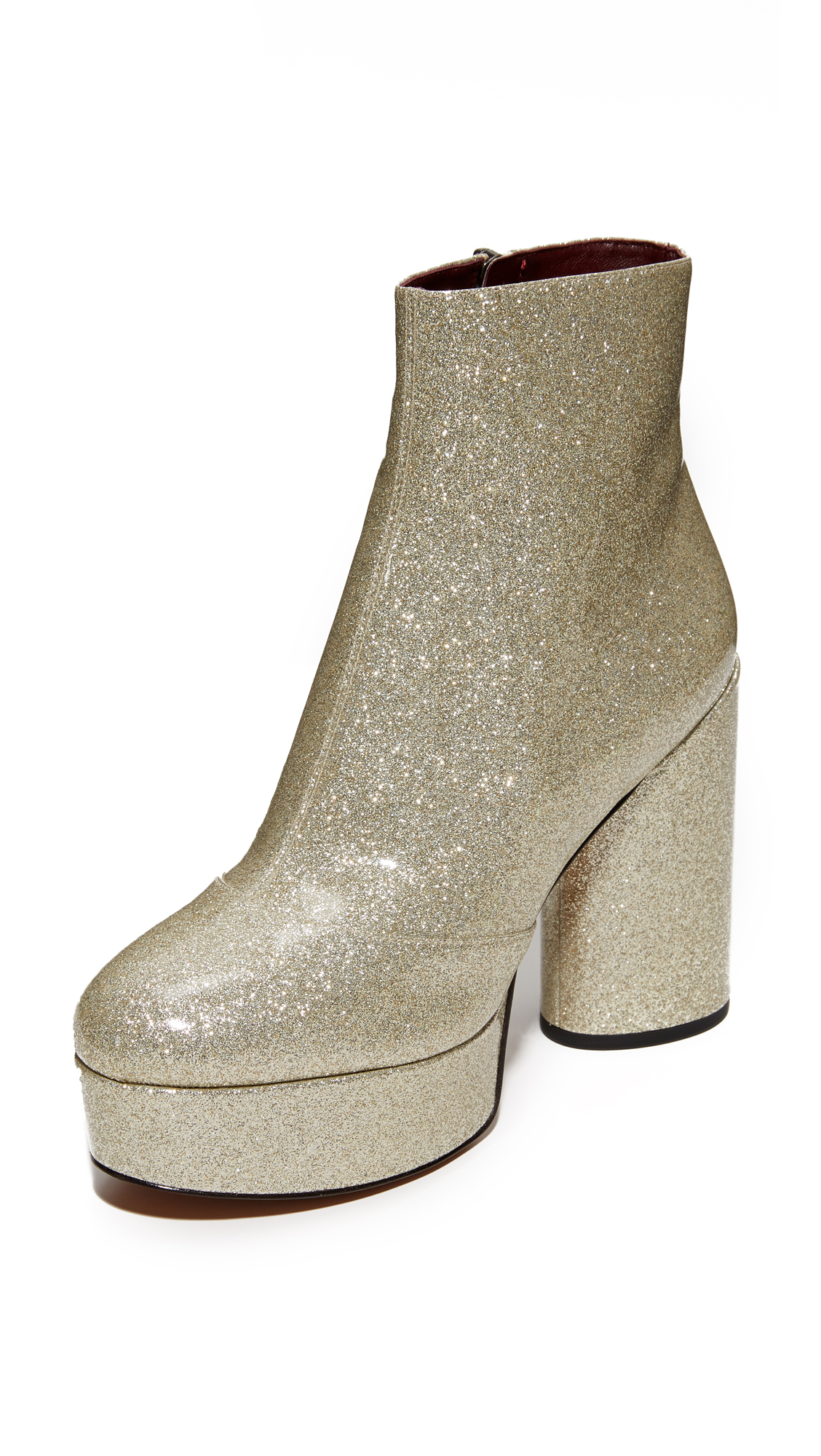 Marc Jacobs Amber Platform Boots - Diamond