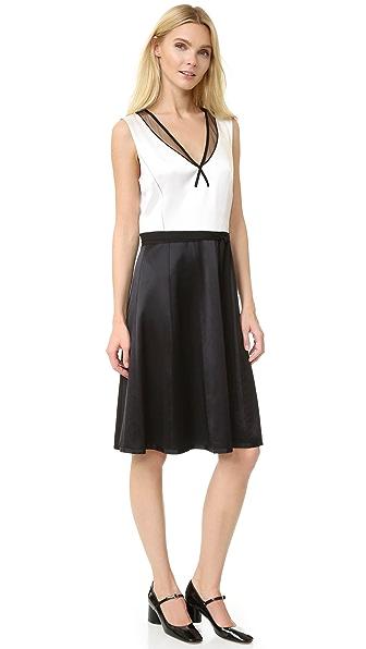 Marc Jacobs Платье без рукавов с V-образным вырезом