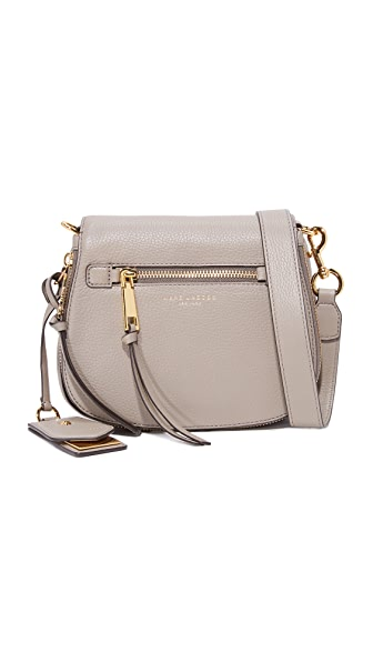 Marc Jacobs Recruit Small Saddle Bag - Mink