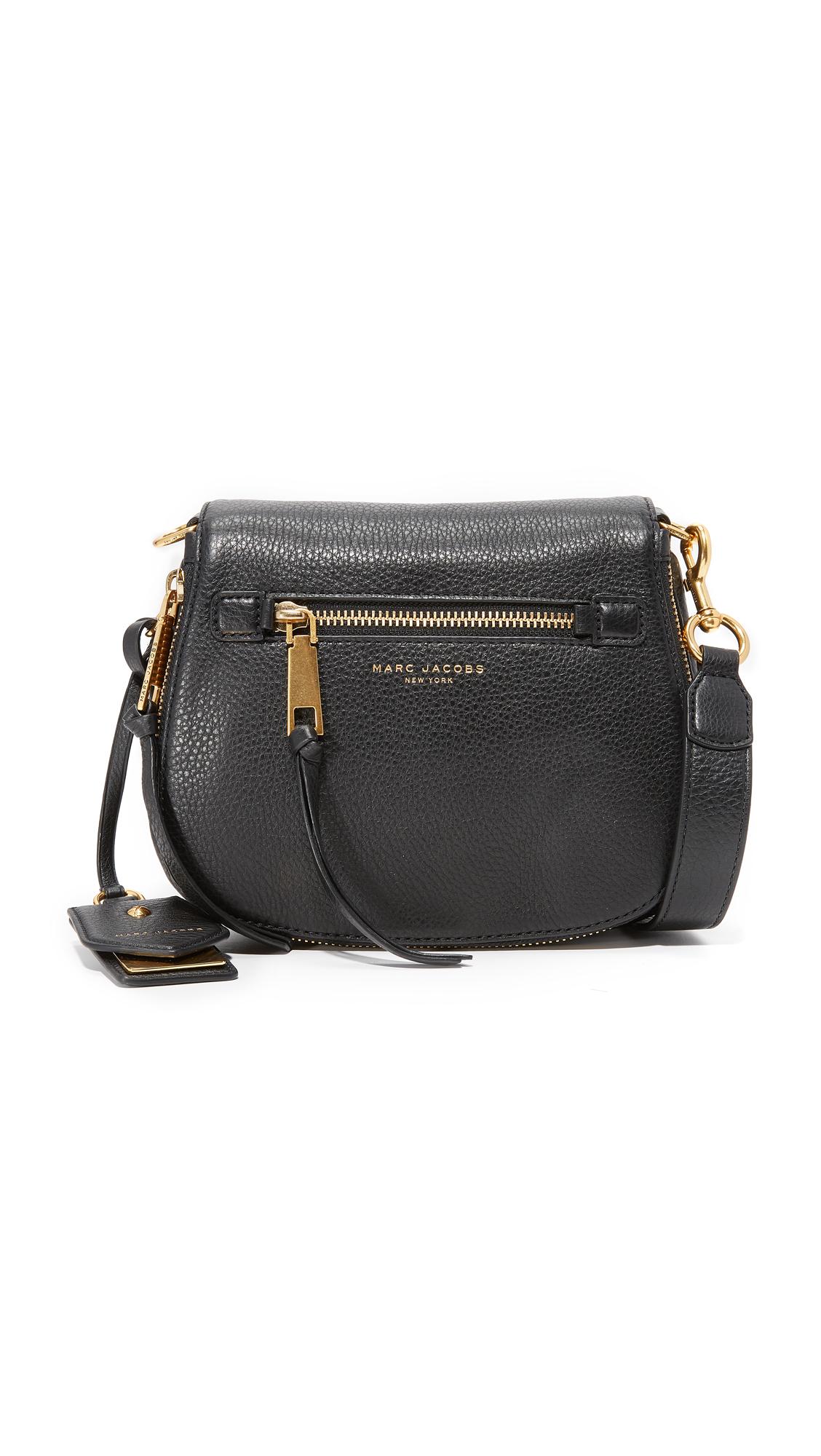 Marc Jacobs Recruit Small Saddle Bag - Black