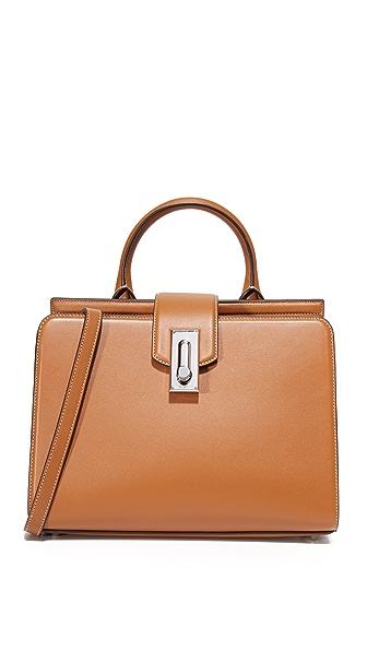 Marc Jacobs Небольшая сумка-портфель West End с ручкой сверху